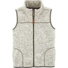 Carter's Boys Zip Sherpa Vest,  Size 6, NWT