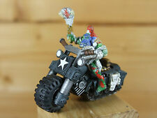 CLASSIC Metal convertito ORK biker made from savage orc dipinto (2301)