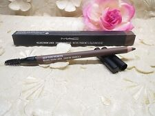 MAC-VELUXE-BROW LINER-CRAYON-DEEP DARK BRUNETTE-NIB! 100% AUTHENTIC!!!