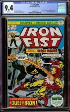 Iron Fist # 1 CGC 9.4 White (Marvel, 1975) 1st issue of series, Iron Man cover