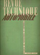 REVUE TECHNIQUE AUTOMOBILE 10 RTA 1947 CAMION GMC CCKW 6X6 2.5 TONNES