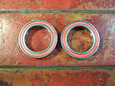 2x New 6805 2RS BEARINGS 25X37X7mm Sealed Cartridge for FSA MegaExo BB red seal