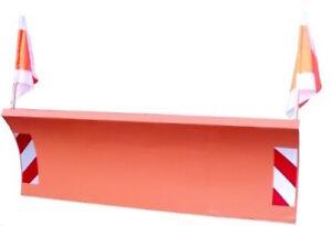 Schneeschild 200x75cm hydraulisch für Multicar, Unimog, Radlader M25, M26, M27