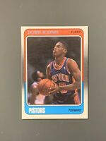 1988-89 Fleer #43 Dennis Rodman Rookie *Sharp* Detroit Pistons HOF