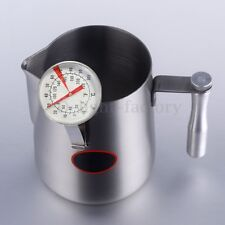 -10-100℃ Clip On Metal Dial Thermometer Jug Clamp For Candle Soap Jam Making