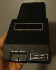 Vintage Radio Shack Realistic Cassette Eight Adaptor 12-1875A 8 Track Adapter