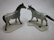 Closeout ! Animal Tracks Porcelain Miniature  Jungle Forest Horse Appaloosa #902
