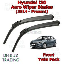 2014 on Bosch Super Plus 2pc Front Windscreen Wiper Blades Set for Hyundai i20
