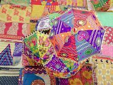 Embroidered Handmade Beautiful Parasols Home Garden Decor Wholesale 10 Pcs
