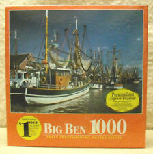 MILTON BRADLEY - BIG BEN 1,000 PC PUZZLE - EAST FRIESLAND , HOLLAND    ZHAS-4962