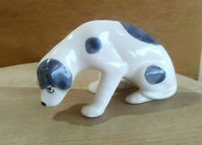More details for czechoslovakia 1940's pottery art deco dalmatian stylised spotty dog