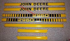 JD410 Hood Decal Kit Set for JOHN DEERE TRACTOR 2950   - NEW!