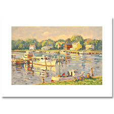 "Bill Schmidt ""Mariners Cove"" Serigraph 223/395 Get the second free same AP 7/70"