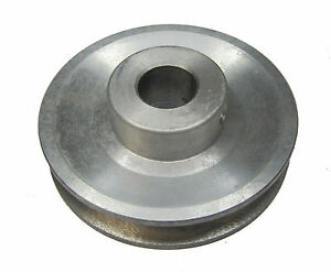"""RDGTOOLS 3-3/8"""" V PULLEY 15 MM BORE / USED WITH V BELT / vee"""