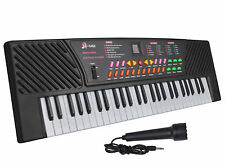Black 54 Keys Music Electronic Keyboard Key Board Kids Gift Electric Piano Organ