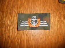 Bundeswehr Tätigkeitsabzeichen Stoff  Seefahrendes Personal Flecktarn NEU Navy