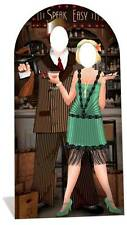 Roaring 1920s Speakeasy LIFESIZE CARDBOARD STAND-IN Cutout - Gangsters and Molls