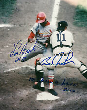 Bill Freehan 1968 signed reprint photo World Series Reprint Detroit Tigers Brock