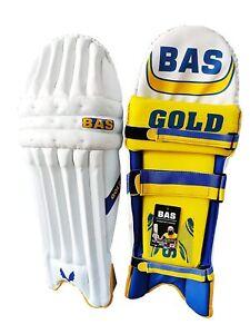 Bas Vampire Gold Cricket Batting Pads
