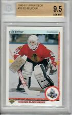 ED BELFOUR UPPER DECK ROOKIE BGS 9.5 OLD BGS LABEL
