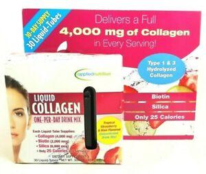 Applied Nutrition LIQUID COLLAGEN Drink Mix 30 Tubes - 10 ml each