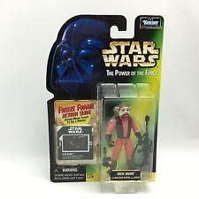 Star Wars POTF2/NIEN NUNB Action Figure/Kenner 1997/Green Freeze Frame Card MOC