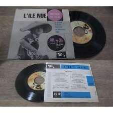 Hikaru Hayashi – L'Ile Nue Rare French EP OST Barclay 1962