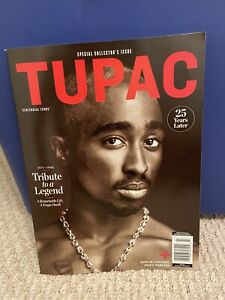 Tupac Shakur 2Pac 25 Years Later Special Collector's Issue Magazine 2021