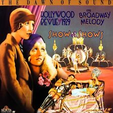DAWN OF SOUND HOLLYWOOD REVUE/BROADWAY MELODY/SHOW SHOWS BOX SET NTSC LASERDISC