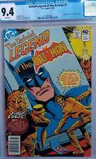 Untold Legend of the Batman #1 CGC 9.4 (José Luis Garcia-Lopez cover, 1980 serie