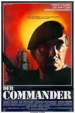 Commander 1988 Poster 01 Metal Sign A4 12x8 Aluminium