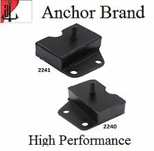 2 PCS FRONT LEFT & RIGHT MOTOR MOUNT For 1966-1969 FORD FAIRLANE 7.0L