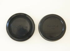OLYMPUS OM Body & Rear lens Caps – a Genuine Vintage Item Made in Japan