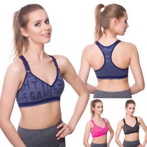 Womens Sports Bra Activewear Fitness New Underwear Running Ladies Top FG9206