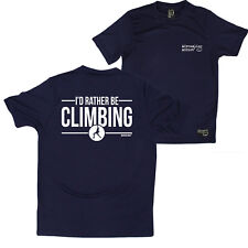 Fb Rock Climbing Tee - Rather Climbing - Novelty Dry Fit Performance T-Shirt
