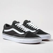 Vans Old Skool Trainers - Classic Shoes Unisex - Black or Navy Blue - BNIB