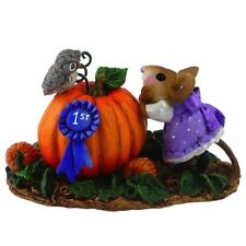 Wee Forest Folk Looking Over 1st Prize Limited Edition Mouse Figurine