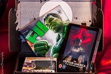 Captain America The winter Soldier Lenticular Steelbook + Zavvi Marvel Zbox