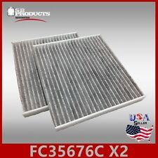 FC35676C(CARBON) 2PC/SET CAF1797 C35676 CABIN AIR FILTER ~ 2003-2007 SATURN ION