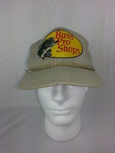 Bass Pro Shops Vintage Snapback 1980s Fishing truckers cap Hat