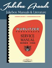 Wurlitzer 3100 Americana Jukebox Service Manual, Parts Lists & Troubleshooting