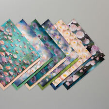 """Stampin Up 12 Sheets of 6""""x6"""" PERENNIAL ESSENCE DSP Paper Impressionistic Monet"""