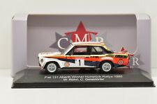 FIAT 131 ABARTH WINNER HUNSRUCK RALLYE 1980 #1 CMR 1/43 NEUVE EN BOITE