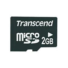 Transcend 2 GB microSD Flash Memory Card (without SD Adapter) (TS2GUSDC)