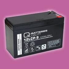 Blei-Akku Batterie AGM 12LCP-9 12V 9Ah zyklenfest wartungsfrei VRLA Deep Cycle