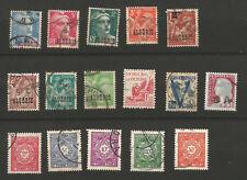 RF Algérie années 1940/55 11 timbres et 5 timbres-taxe oblitérés /T5597