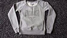 Everlast grey fleece sweat top with scooped neck Size 8