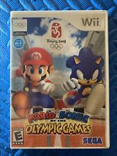 Mario & Sonic at the Olympic Games Beijing (Nintendo Wii, 2008) Tested Complete