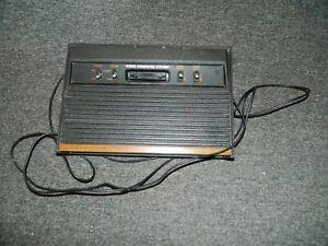 Replacement Atari 2600 4 Switch Console w/ Wood Grain *READ DESCRIPTION*