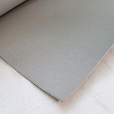 Tapis à fines rayures 3mm 1200x5000mm 6m ² gris Protection de câble atelier